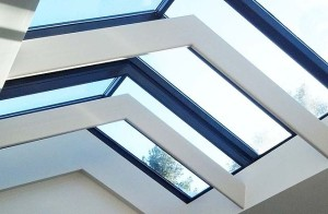 Steel-and-glass-skylight-with-architectural-detail