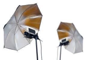 studio-umbrella-lights
