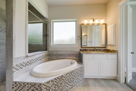 Trend in Number of Bathrooms in a New Home