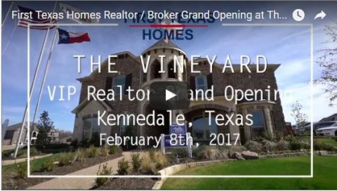 Thank you to all the awesome realtors that came out to our model party in The Vineyard!!!